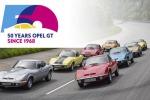 Opel Gt compie 50 anni, tour nelle strade della leggenda