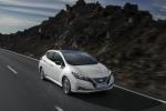 Nissan Leaf,a un anno dal debutto boom di premi collezionati