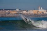 Peniche, una delle mete europee preferite dai surfisti, sulla costa atlantica a nord di Lisbona