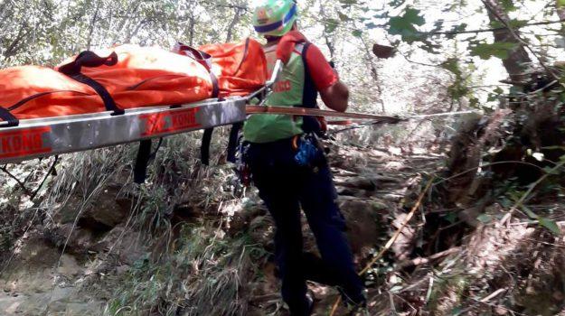 escursionista morto apricale, Sicilia, Cronaca