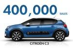 Citroen, in meno di due anni consegnate 400mila C3 in Europa