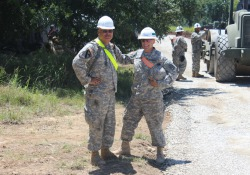 Negli Usa la Guardia Nazionale è una forza miltare formata da riservisti che comprende le Engineer Brigade