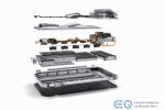 Il nuovo suv elettrico EQC impressiona per la semplicità del design e la promessa di grandi prestazioni elettriche