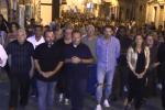 La fiaccolata per Gessica Lattuca, la donna scomparsa un mese fa a Favara