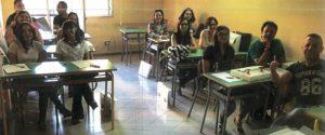 Gli allievi del corso di formazione partito a Borgetto