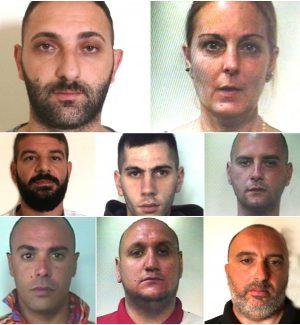 Gli affari della mafia con la droga a Catania, blitz con 8 arresti: le foto