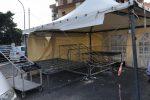 Palermo, rimosse e sequestrate due strutture abbandonate a Partanna Mondello