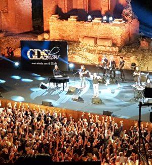 GdShow, lo spettacolo di Taormina stasera in onda su Tgs e in streaming su Gds.it