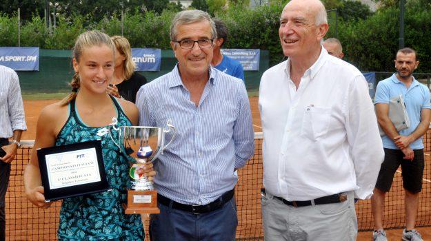 tennis under14, Sicilia, Sport