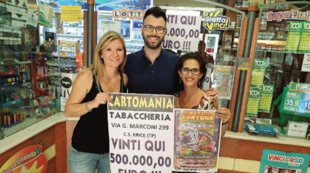 gratta e vinci erice, Trapani, Cronaca
