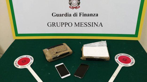 arresti cocaina, droga messina, guardia di finanza, Messina, Cronaca