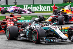 Gp d'Italia, Hamilton trionfa a Monza: Raikkonen secondo, Vettel solo quarto