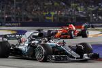Formula uno, a Singapore dominio di Hamilton e va in fuga nel mondiale: Vettel solo terzo