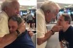 La reazione di Matt Cobrink, 53 anni, con la sindrome di Down, che rivede il padre, 88 anni, dopo essere stato lontano da lui per la prima volta in 25 anni