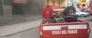 Catania, incendio in una sala giochi: si indaga sulle cause