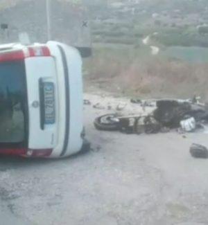 L'incidente di Castellammare che è costato la vita a un giovane centauro