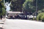Incidente in viale Regione a Palermo, scontro tra un'auto e un camion: traffico in tilt