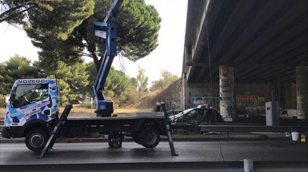 lavori viale regione palermo, traffico viale regione Palermo, Palermo, Cronaca