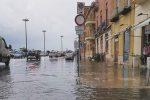 Trapani in tilt per il maltempo, disagi e strade allagate