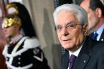 """Manovra, Mattarella difende Bankitalia e l'ufficio parlamentare di Bilancio: """"Io garante del sistema"""""""