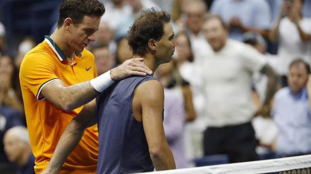 us open tennis, Juan Martin Del Potro, Novak Djokovic, Sicilia, Sport