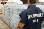 Il Papa a Palermo, sequestrate trentamila bottiglie di acqua pronte per essere vendute