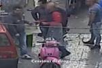 Un frame del video dei carabinieri che riprende lo spaccio di droga a Ballarò, Palermo