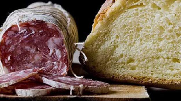 merenda pane salame scuola, Sicilia, Società
