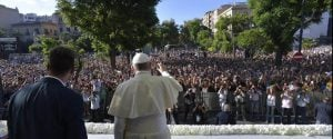 """Il Papa a Palermo:""""Ai mafiosi dico: convertitevi! Il sorriso di Don Pino trasmetteva la forza di Dio"""""""