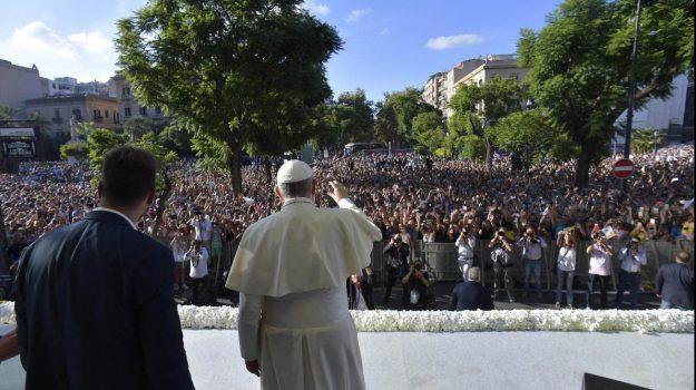 papa a palermo, Papa Francesco, Palermo, Cronaca