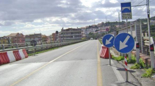 Anas chiusura ponti statale 114, Sicilia, Cronaca