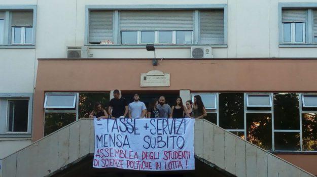 occupazione uffici Ersu Palermo, protesta studenti per mancanza mense a Palermo, Palermo, Cronaca