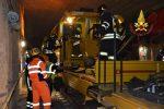 Passante ferroviario di Palermo, prove di riapertura: esercitazione dei vigili del fuoco
