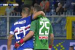 Il Napoli crolla con la Samp, la Juve da sola a punteggio pieno