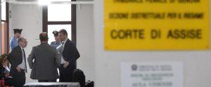 I legali prima dell'udienza al Tribunale del Riesame sul sequestro dei fondi elettorali della Lega, Genova