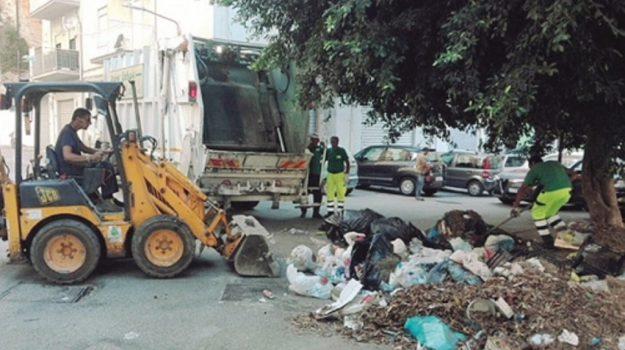 emergenza rifiuti agrigento, netturbini protesta Agrigento, Agrigento, Cronaca