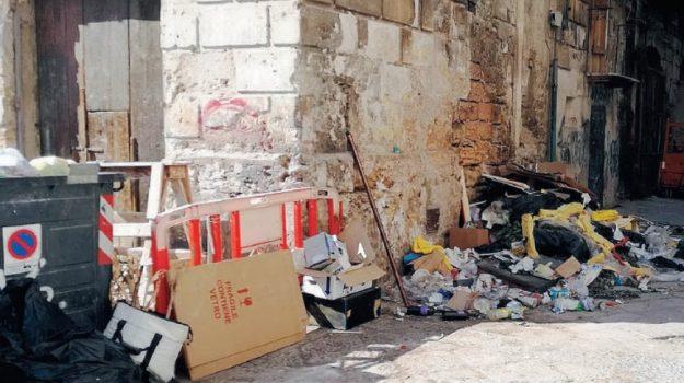 rifiuti centro storico palermo, Palermo, Cronaca