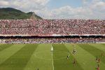 Calcio, rissa allo stadio Arechi di Salerno: denunciati 12 ultras del Palermo