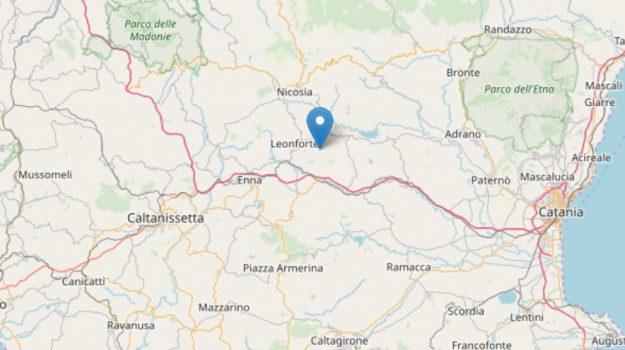 terremoto ad Assoro, Enna, Cronaca