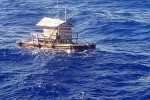 Il 19enne indonesiano di Sulawesi era stato spazzato alla deriva dai venti