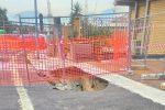 Voragine in via Cardinale Rampolla a Palermo, chiusa la scuola primaria Arenella