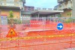 Voragine in via Rampolla a Palermo, realizzata una passerella per raggiungere la scuola