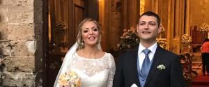 Fiori d'arancio, si è sposata Anna Sampino