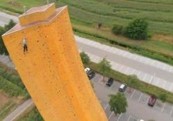 A Groningen, in Olanda, si trova una delle pareti di arrampicata più spettacolari del mondo
