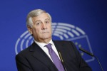 Il presidente del Parlamento europeo, Antonio Tajani