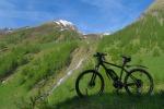 In bici nel Gran Paradiso, 16 itinerari