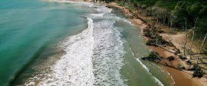 """La spiaggia di Eraclea Minoa """"divorata"""" dal mare: """"Così rischia di scomparire"""""""
