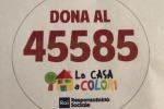 Il numero per le donazioni a favore della casa a colori per i bambini con tumore