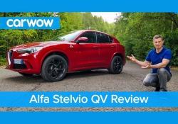 Il Driver's Award 2018 di Carwow allo Stelvio Quadrifoglio