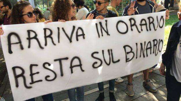protesta tram messina, Messina, Cronaca